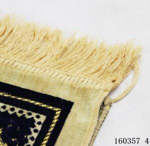 Image 3 - OurWarm Ramadan Islamic Muslim Prayer Mat Eid Mubarak Decor Waterproof Salat Musallah Prayer Rug Carpet Home Bedroom Decoration