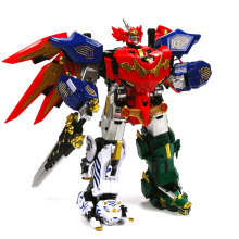 Action Figure Children Gifts Toys Transformation Robot Ranger Megazord Assemble Figure цены