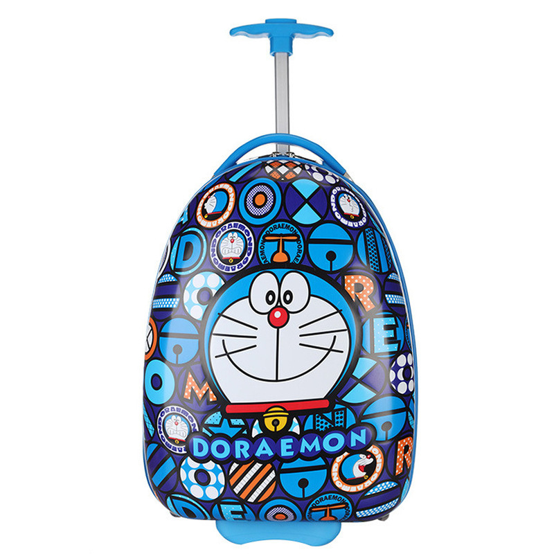 New Kids Rase Luggage 16 Inch Wheels Trolley Bag Travel Students Boy Cartoon Girl Cute Children's Case Boarding In Chassis Gift