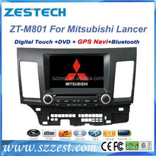 Free Shipping!ZESTECH Mitsubishi Lancer Car DVD Player with GPS Bluetooth Dual Zone ipod iphone PIP Steering Wheel Control