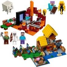 Buy lepin minecraft nether and get free shipping on AliExpress com