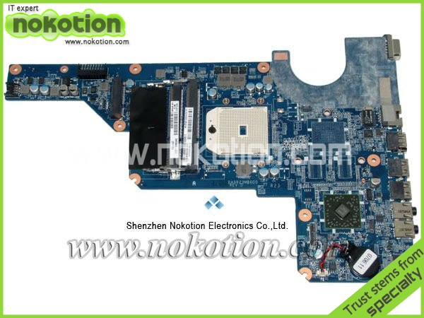 NOKOTION 649948-001 for HP G4 laptop motherboard DDR3 Mainboard Mother Boards free shipping nokotion 650199 001 laptop motherboard for hp pavilion g4 g7 hm65 mobility radeon hd ddr3 mainboard mother boards