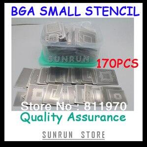 Image 1 - Trasporto Libero, Nuovo Diretto Riscaldamento BGA Stencil Set Notebook Dedicato 170 pcs BGA Stencil BGA Reballing Stencil Kit