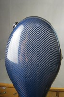 Beautiful real carbon fiber Blue cello case 4/4.light weight