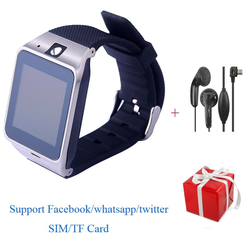 GV18 APLUS Smartwatch Bluetooth Smart Watch Camera SIM/TF Card NFC Whatsapp Wris