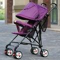 Leve guarda-chuva dobrável carro carrinho de choque carrinho de bebê de quatro de ultraleve verão crianças