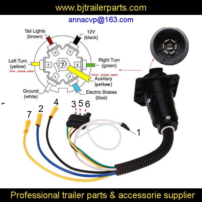 7 pin to 4 pin plug adapter wiring diagram  trans am hid