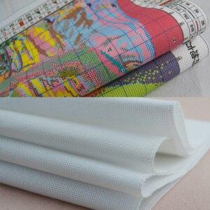 Всесезонная Фортуна 11CT 14CT печатная ткань швейная вышивка крестиком набор драматическое украшение мебели