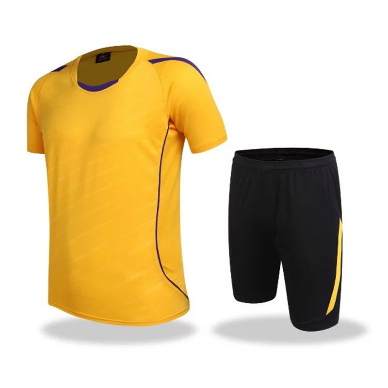 High Quality breathable sports suit set polyester training jersey tracksuit plus size basketball font b clothing