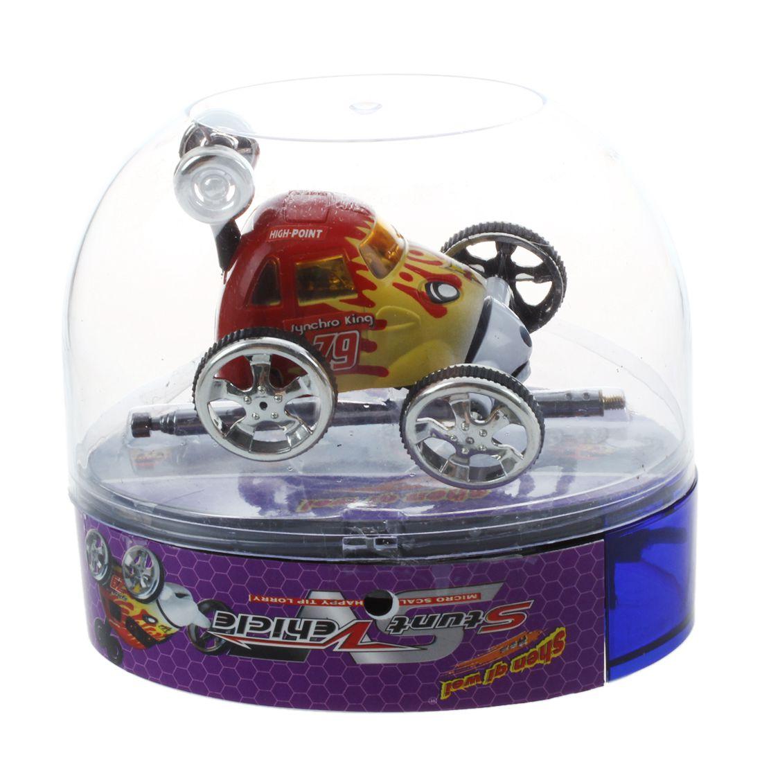 Mini Led Rc 360 Degree Wheelie Remote Control Stunt Car