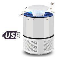 Safe Photocatalytic Anti Mosquito Fly Killer Lamp LED Light Non Toxic UV Insect Trap USB Electric LED Bug Anti Mosquito Killer