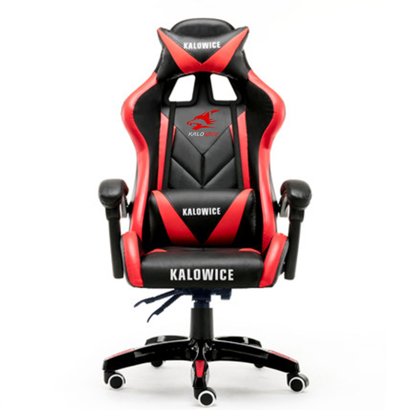 New arrival Racing synthetic Leather gaming chair Internet cafes WCG computer chair comfortable lying household Chair