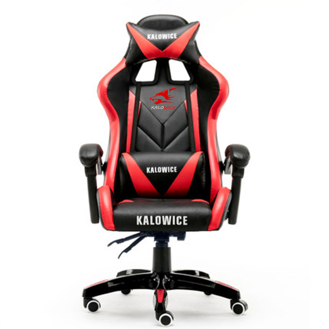 New arrival Racing synthetic Leather gaming chair Internet cafes WCG computer chair comfortable lying household Chair 5