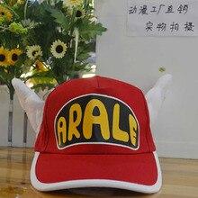 Hot Sale Anime Arale Adjustable Angel Wings Cap Cosplay Plush Sun Hat Unisex Baseball Cap Gift