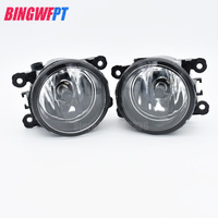 2pcs Fog Light Lamp Replacement H11 55w Halogen Bulb For Ford Mustang Fits Convertible Coup Models