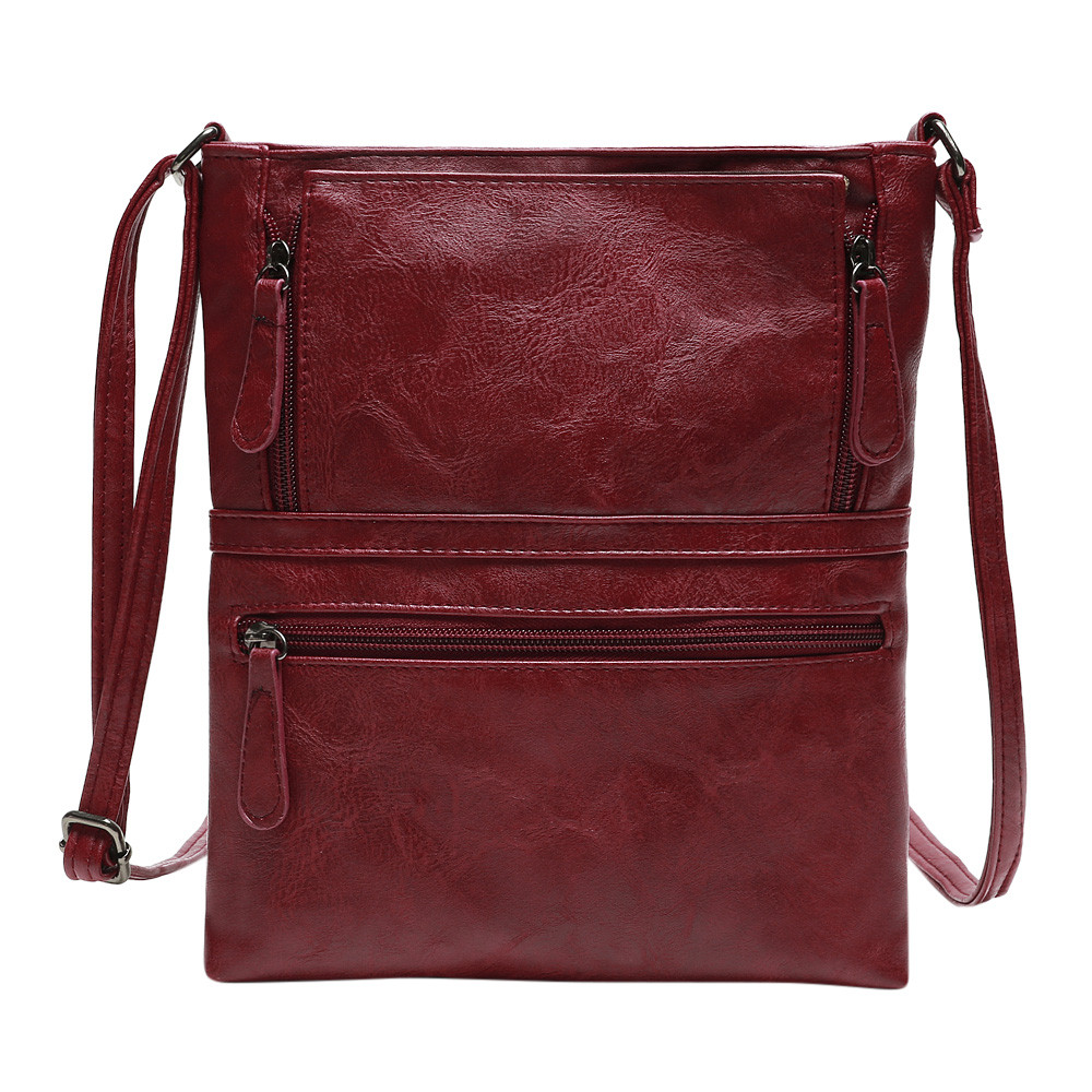 Sleeper #401 2019 Womens Leather Purse Satchel Cross Body Zipper Shoulder Bag Messenger Bag FASHION DESIGN Gifts Free Shipping