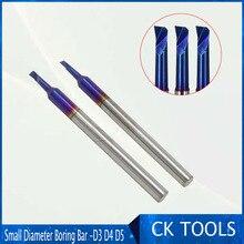 Расточные резцы с небольшим отверстием, резьбовой инструмент, Интегральная Вольфрамовая сталь, NACO, покрытие, Интегральная точность, 4 мм, 5 мм, 3 мм, расточные cutte