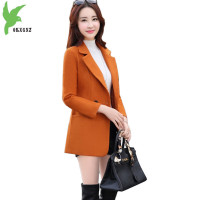 New Women S Autumn Winter Short Woolen Jackets Fashion Solid Color Slim Woolen Cloth Coats Casual
