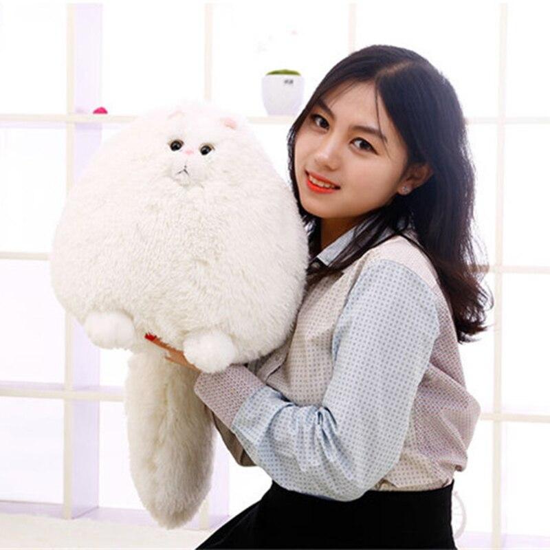 Hanhanho 100 cm chat persan jouets en peluche Super doux peluche gros chats Kawaii oreiller doux jouets en peluche animaux en peluche poupées cadeaux