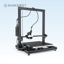 CES Exhibition Xinkebot 3D Printer ORCA2 Cygnus Full Color Touch Screen Dual Nozzle Independent Heated Build Plate