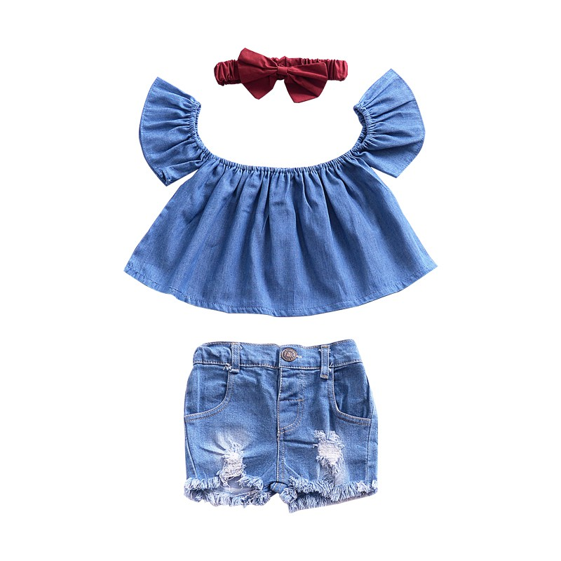 Kids Girls Crop Tops Upper Outer Garment Children Clothing Lace Short Sleeve Tops Size 80-120 Pink Black White Blue 2019