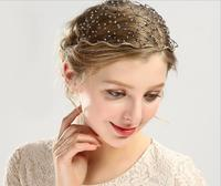 Wedding Crystal Hairband Bridal Crystal Headbands Wedding Hair Accessories For Ladies Bridal's Tiara Romantic Hair Jewelry Part