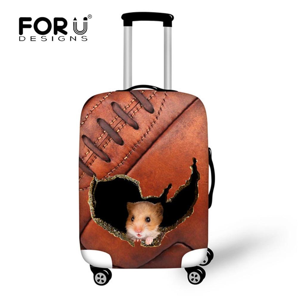 Dikke elastische bagage beschermhoes met ziper voor 18 20 22 24 26 28 - Reisaccessoires