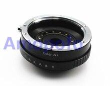 Amopofo EF-N1 Adapter, for Canon EF Lens to for Nikon1 Mirroless Digicam V1 V2 J1 J2