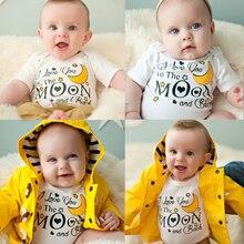 Newborn Toddler Kids Bodysuit Baby Boys Girls Jumpsuit One-Pieces Clothes