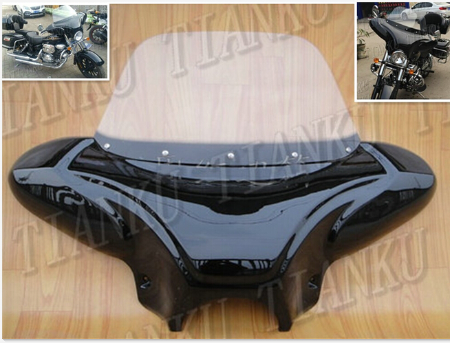 Windscreen-Fairing Windshield Volusia Intruder C50 Suzuki Boulevard M109R M50 800  title=