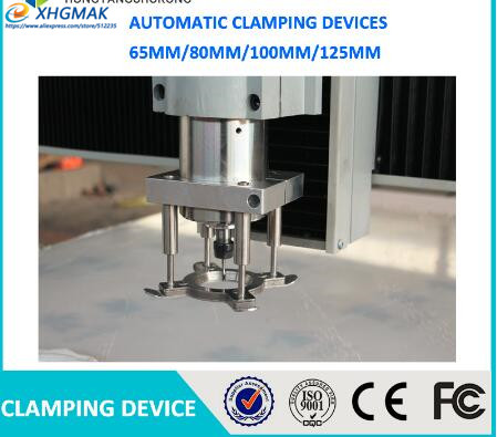 Spindle Motor Clamping Bracket Diameter Automatic Fixture Plate Device for water cooled air cooling CNC spindle