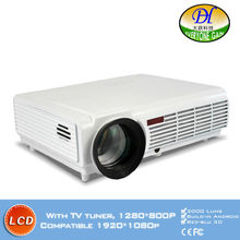 DH-TL300 Led TV Intelligent Video projector 3000 Lumens Highlight build-in speaker Android 4.2 Support 1080P Movie Proyector