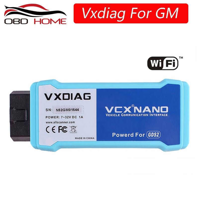 Vxdiag VCX Nano Multiple GDS2 e TIS2WEB Sistema diagnostico//Programmazione per GM//Opel