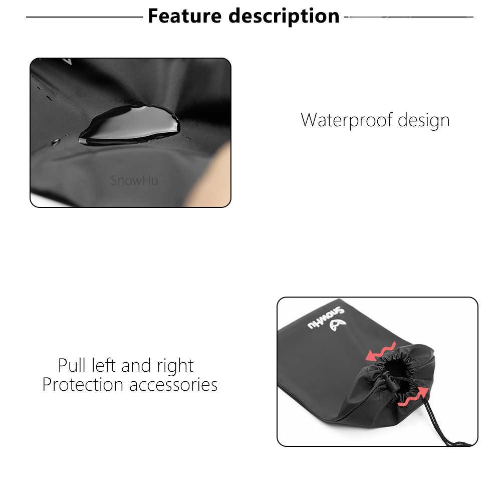 SnowHu for GoPro Accessories Storage Bag Receive Bag Headband Chest Belt For Gopro hero 8 7 6 5 4 for Xiaomi 4K lite sjcam GP52