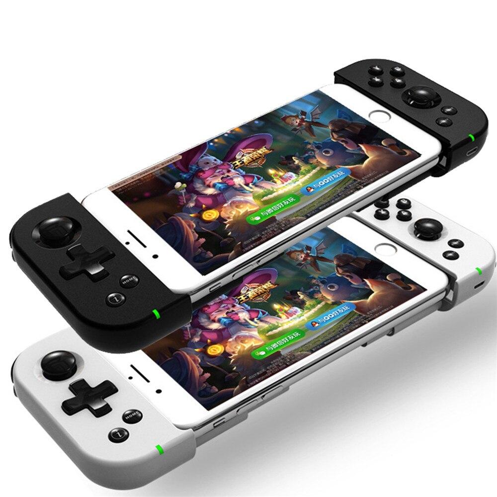 Sans fil Bluetooth 4.0 Gamepad Poignée Contrôleur Extensible Jeu Pad Joystick Pour IOS Android Smartphone