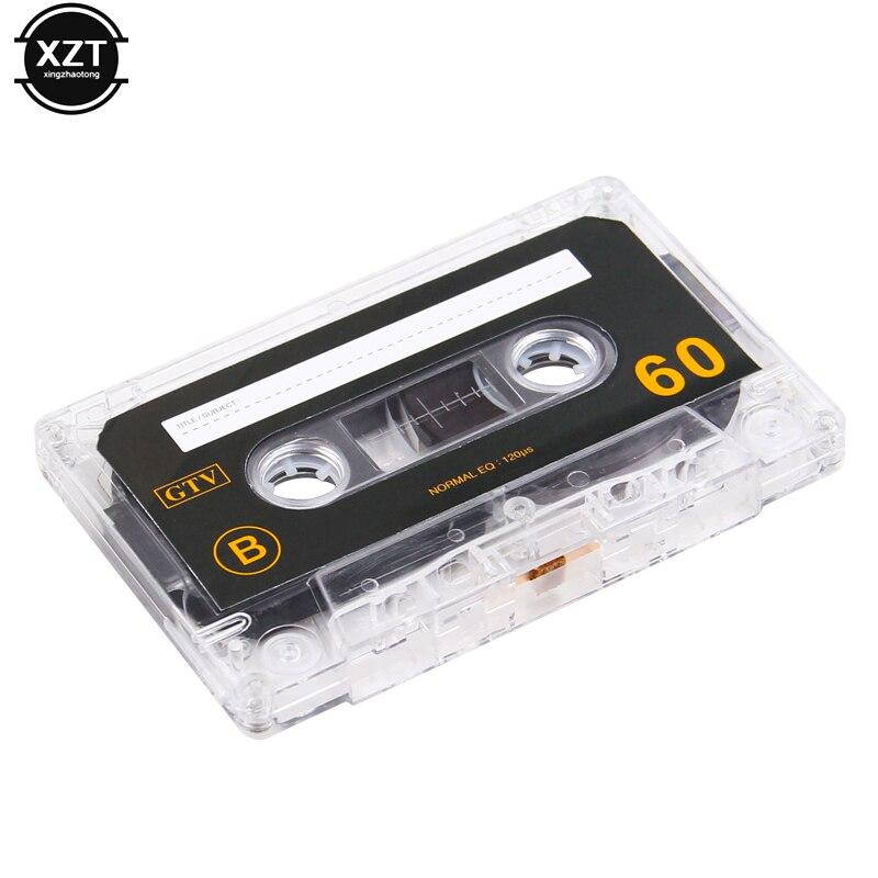 Cassette & Spieler FäHig High Speed Standard Kassette Leere Band Player Leere Band Mit 60 Minuten Magnetische Audio Band Aufnahme Für Rede Musik Rekord