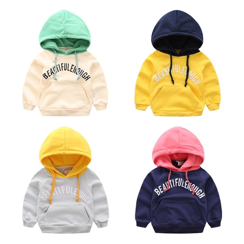 Baby Boy Hoodie Autumn Cotton Children Coat Hoodies Sweatshirts Kids Jackets Coats Long Sleeve Tops Outerwear Children Clothes
