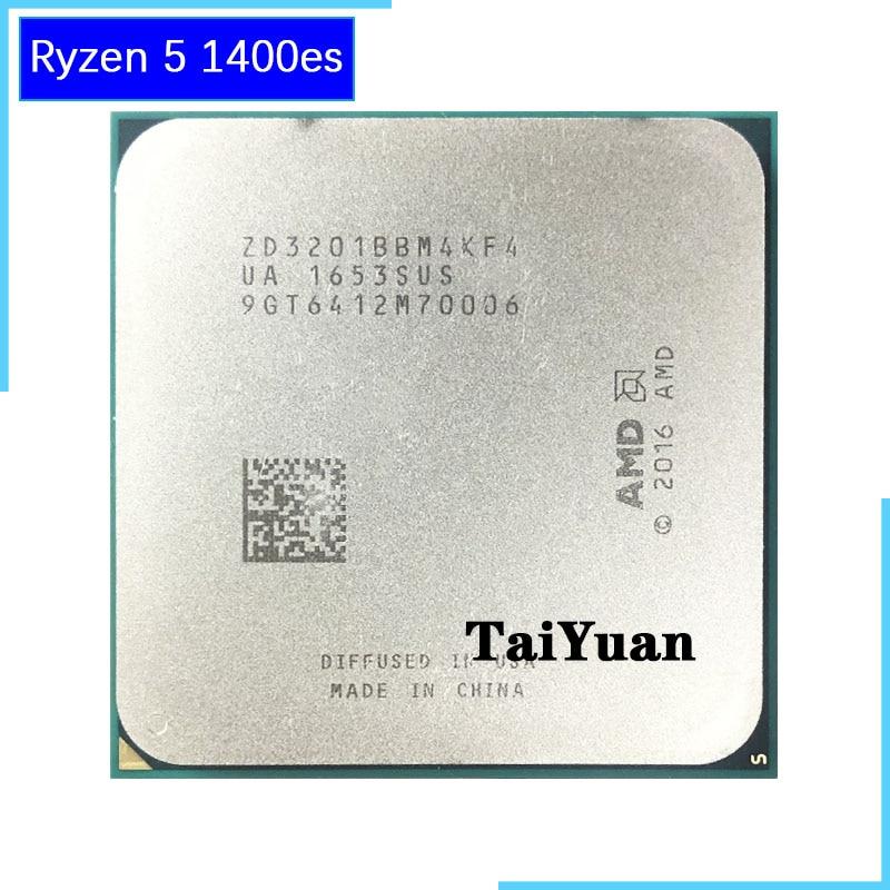 AMD Ryzen R5 5 1400 ES 1400 es 3 2 GHz Processador CPU Quad