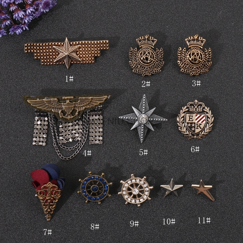 10 broches aiguilles badges brooch pin brooch Back Bijoux aiguilles aiguilles