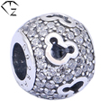 Animal Mouse Bead for Pandora DIY 100% Pure 925 Silver Beads for Jewelry Making S925 Sterling Silver Accessories