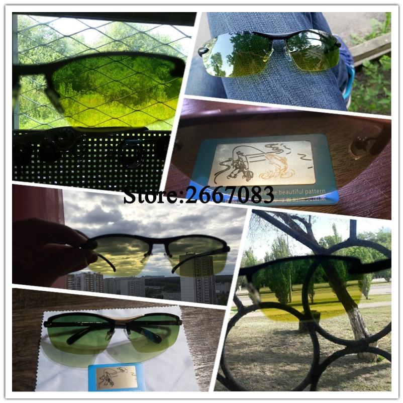 AORON Gafas de sol polarizadas para hombres Gafas para el día y la - Accesorios para la ropa - foto 5