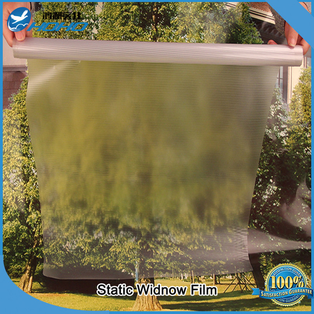 Decorative Without Adhesive Static Cling Privacy Glass Window Film 92cm*5m per roll