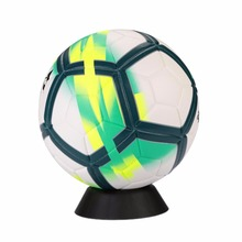 color random pp ball stand basketball football soccer rugby plastic display holder for box case simple and convenient practical - Basketball Display Case