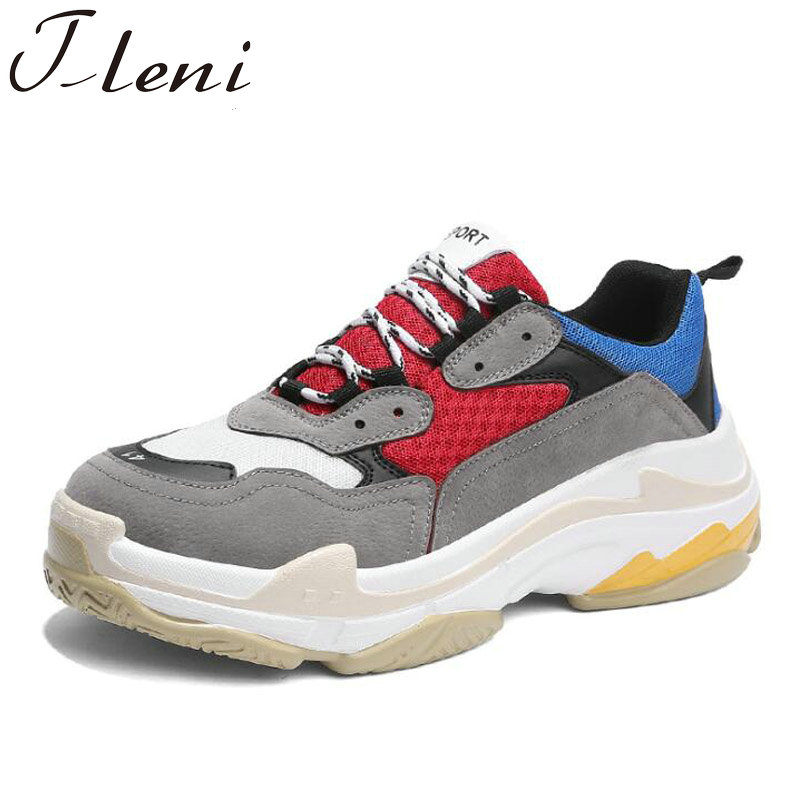 Tleni Men Trainers Breathable Sneakers Luxury Brand Shoes running male shoes zapatillas Red Black Gym Shoes ZE-50Tleni Men Trainers Breathable Sneakers Luxury Brand Shoes running male shoes zapatillas Red Black Gym Shoes ZE-50