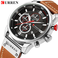 CURREN Watches Men Quartz Top Brand Analog Military Male Watch Men Fashion Casual Sports Army Watch