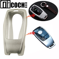 Elegant 3 Or 4 Button Aluminum Car Key Case Cover Protector Shell Skin For Mercedes Benz