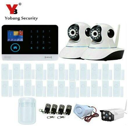 Yobangsecurity 3G WCDMA Беспроводной WI FI DIY Умный дом Охранной Сигнализации системы Наборы Крытый IP Камера Android IOS APP