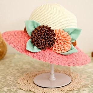 La nueva Sra. verano UV sombrero para el sol sombrero de playa sombrero de ala ancha sombrero para el sol
