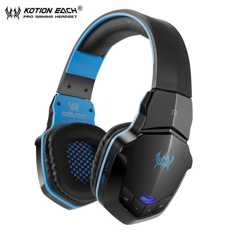 ВСЕКИ B3505 Безжичен Bluetooth 4. 1 Стерео слушалки за слушалки Слушалки за контрол на силата на звука Микрофон HiFi Музикални слушалки игра