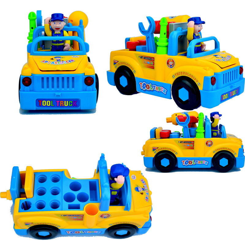 Electric Car Innovative Learning Toy Cars Toys For Children Kids Toys Electric Tool Car Model Machine
